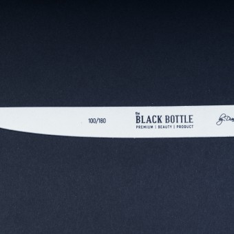 the BLACK BOTTLE дървена пила - 100/180 грита